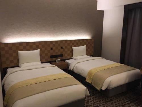ホテル日航立川のモデレートツイン