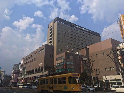 ホテル日光熊本の全体の写真
