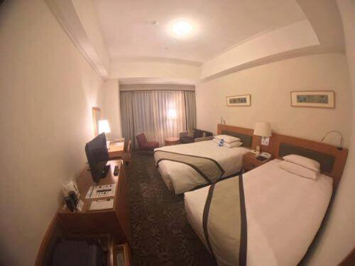 ホテル日航熊本のスタンダードツインの写真
