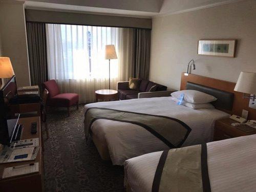 ホテル日航熊本のスタンダードツイン