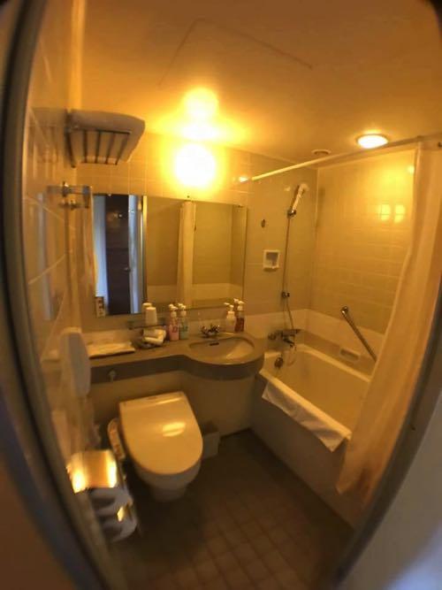 ホテルJALシティ長崎のトイレ