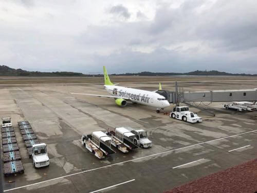 長崎空港のソラシドエア