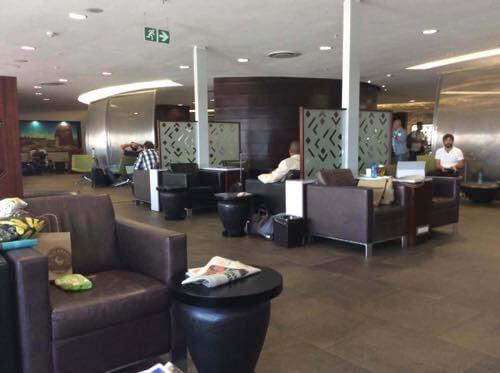 ヨハネスブルグ、南アフリカ航空ラウンジ