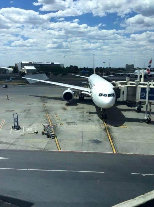 南アフリカ、ヨハネスブルグ、シンガポール航空