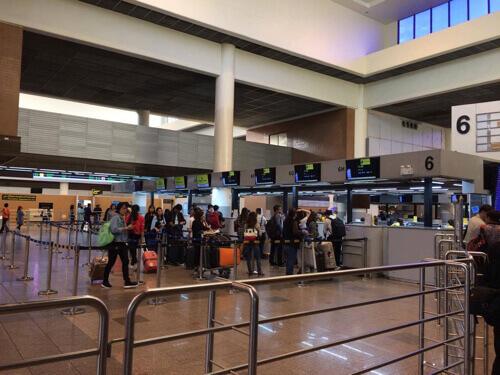 スクートのチェックインカウンター@ドンムアン空港