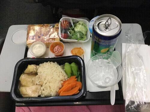 スクートビズの機内食