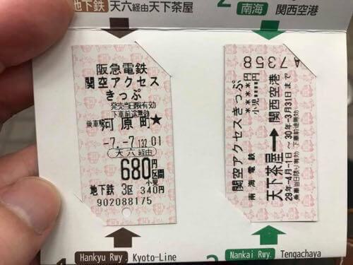 関空アクセスきっぷ