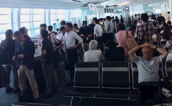 羽田空港ANA国際線の優先搭乗