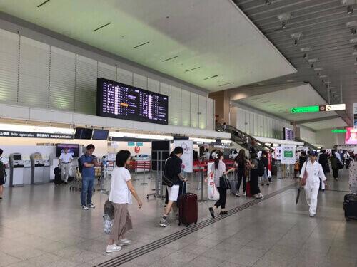 伊丹空港北ターミナルの様子