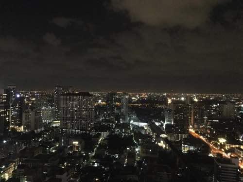バイヨークスカイホテルからの夜景