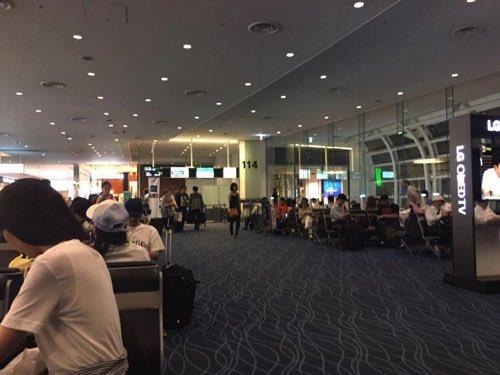 羽田空港JAL国際線バンコク行きの搭乗ゲート