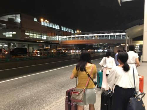 JALで伊丹空港に到着