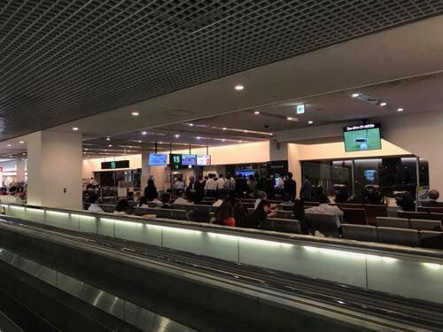 羽田空港JAL国内線の優先搭乗