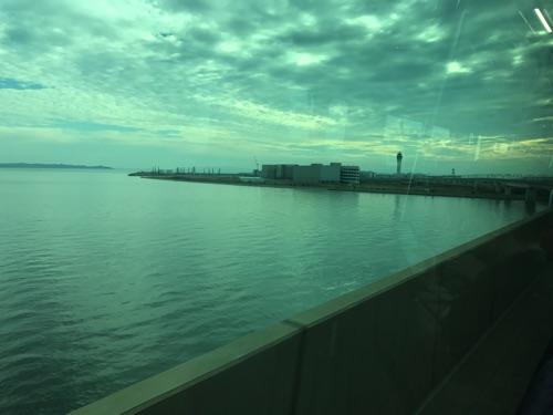 名鉄から見える中部国際空港