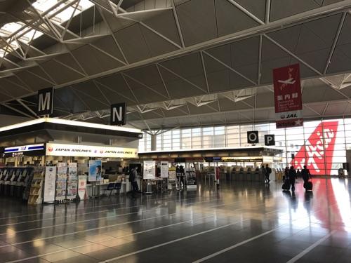 中部国際空港のNカウンターがJ国内線ALです