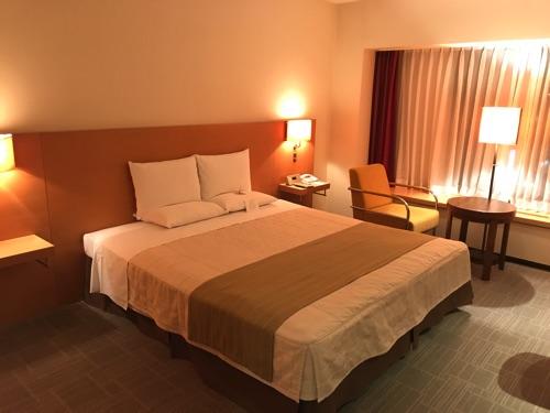 ホテルオークラ札幌のスタンダードダブル