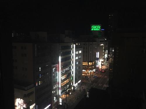 ホテルオークラ札幌の客室からの景色