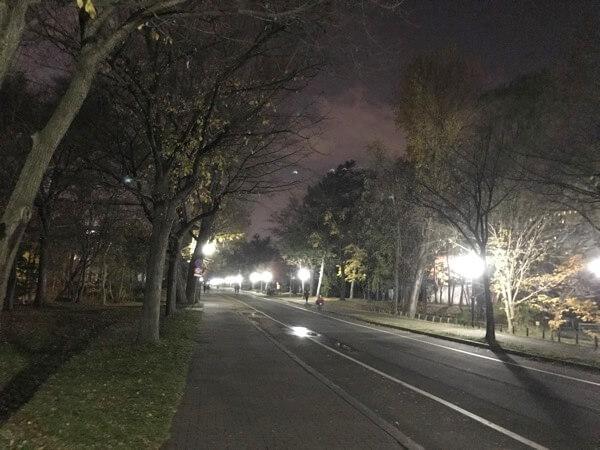 北海道大学の様子