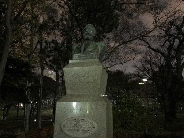 北海道大学のクラーク博士像