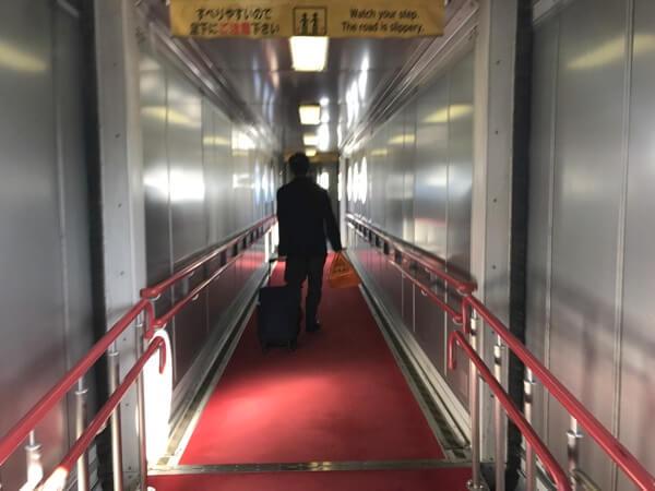 JAL3106便の優先搭乗