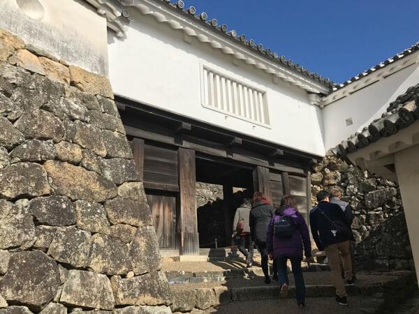 姫路城の「はの門」