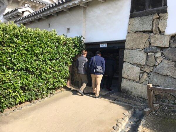姫路城の「ほの門」