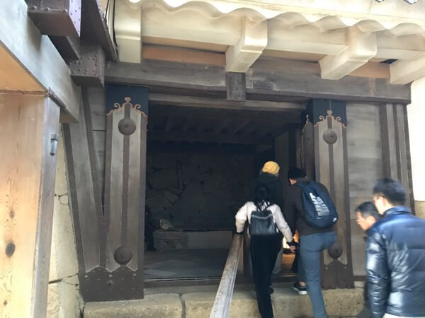 姫路城の「水の五門」