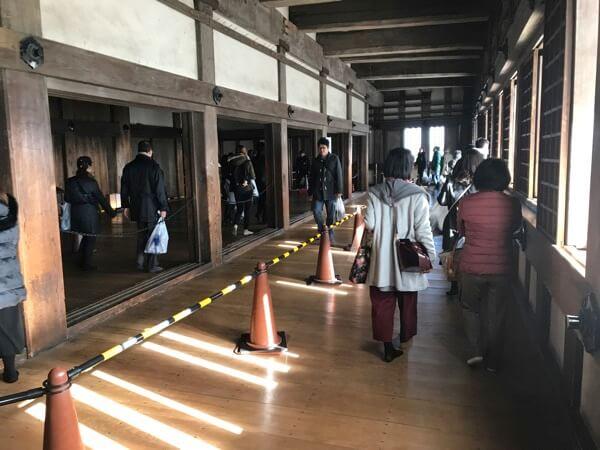 姫路城大天守の内部の様子