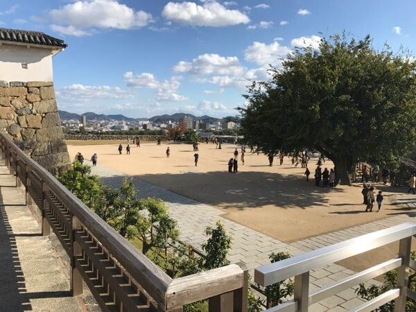 姫路城の備前丸