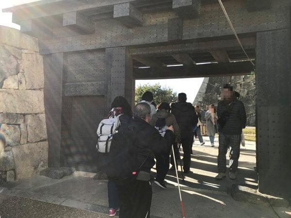 姫路城の備前門