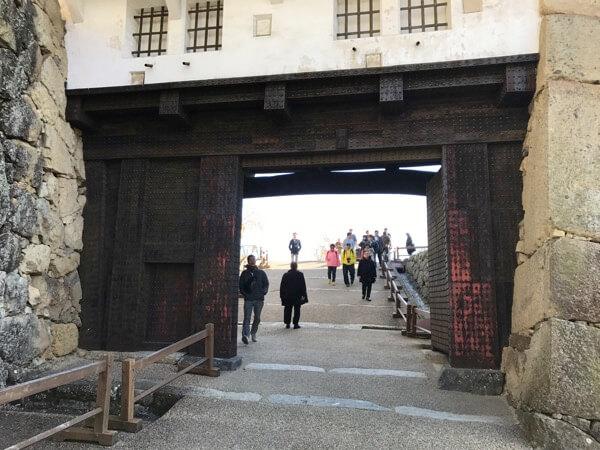 姫路城のぬの門