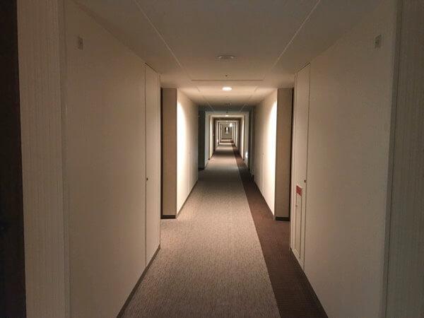 ホテル日航奈良の客室フロア