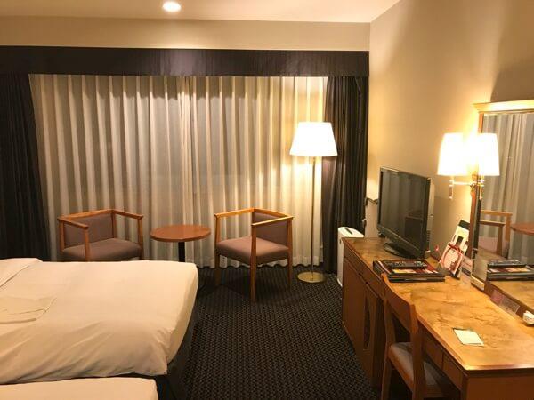 ホテル日航奈良のツインルーム