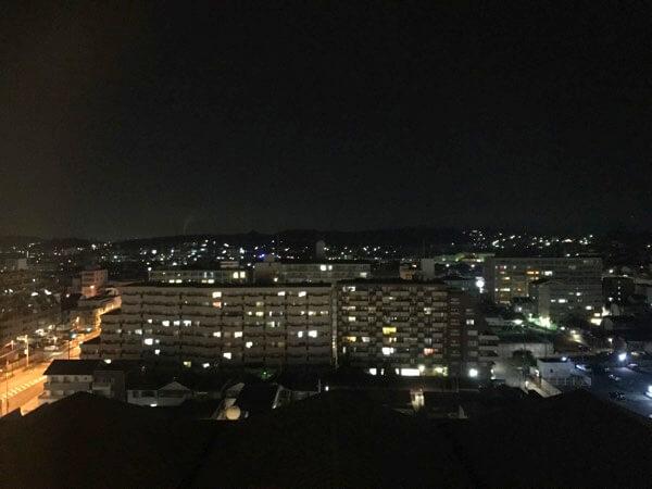 ホテル日航奈良からの夜景