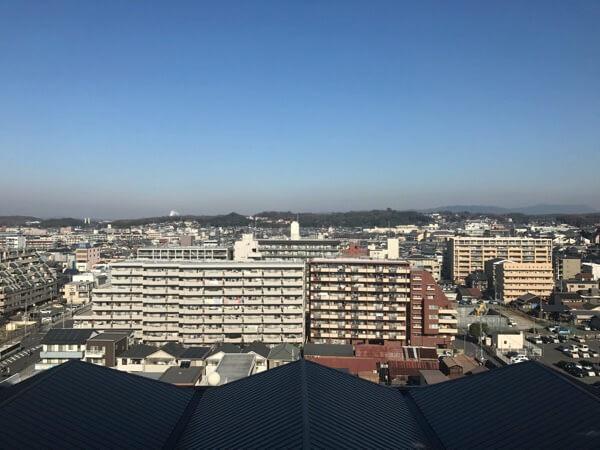 ホテル日航奈良からの風景