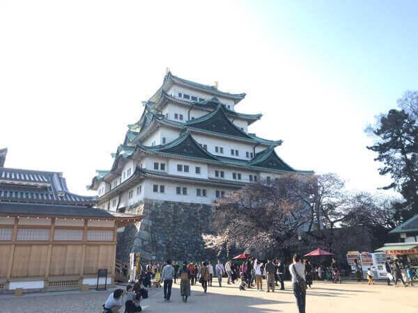 名古屋城の天守閣