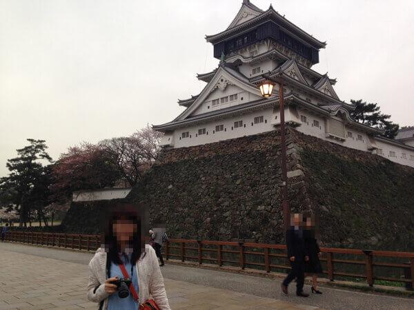 小倉城の天守閣