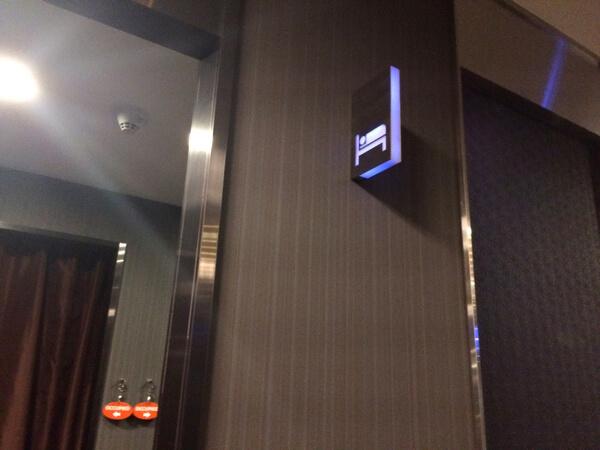 スワンナプーム国際空港エバー航空ラウンジの仮眠室
