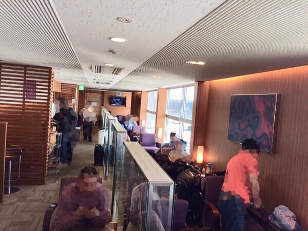 関西空港にあるタイ国際航空のロイヤルオーキッドラウンジ