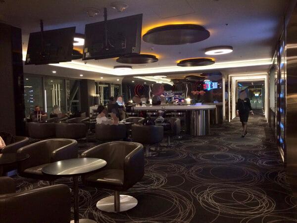 スワンナプーム国際空港エバー航空ラウンジの様子