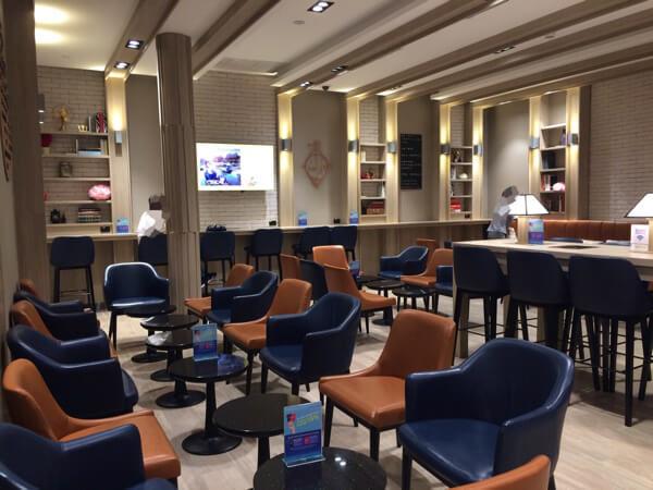 スワンナプーム国際空港キングパワーラウンジ