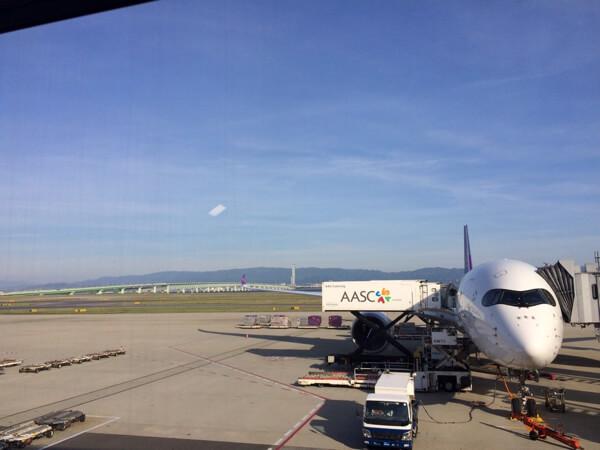 タイ国際航空のA350