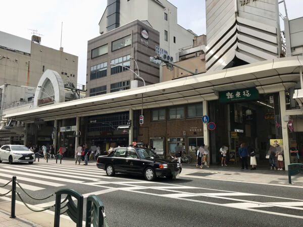 新京極商店街と寺町商店街