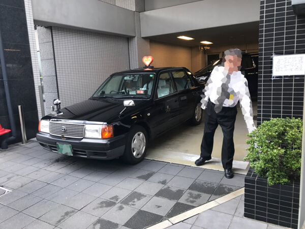 MKタクシー乗り場@京都駅八条口イビスホテル
