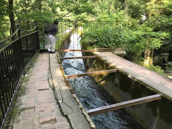 南禅寺水路閣の水路