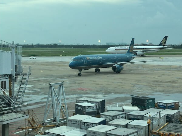 ベトナム航空バンコク行き@ホーチミン