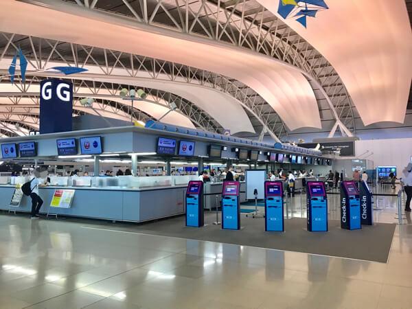 関西空港ベトナム航空カウンター